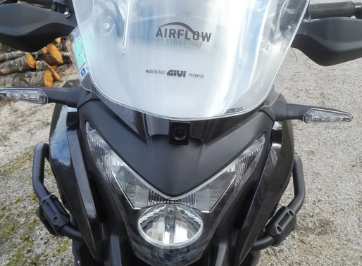 INNOVV K1 Motorcycle Camera System Installed on Crosstourer 1200 from Honda
