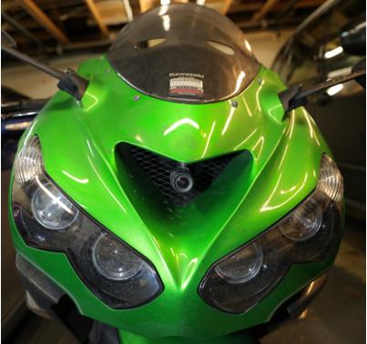INNOVV C5 Motorcycle Camera Installed on Suzuki hayabusa