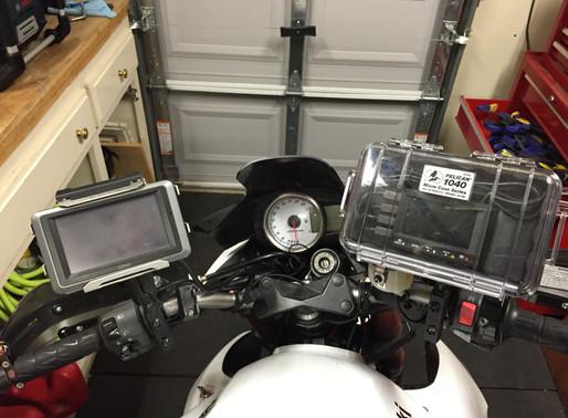 INNOVV motorcycle camera DVR in pelican 1040 box
