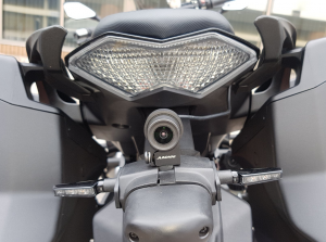 INNOVV K2 Motorcycle Camera system on Kawasaki Ninja Z1000SX
