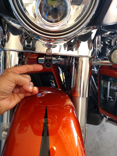 INNOVV K2 Motorcycle Camera Installed on Harley-Davidson Ultra LImited