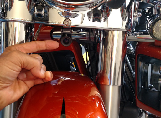 INNOVV K2 Motorcycle Camera Installed on Harley-Davidson Ultra LImited