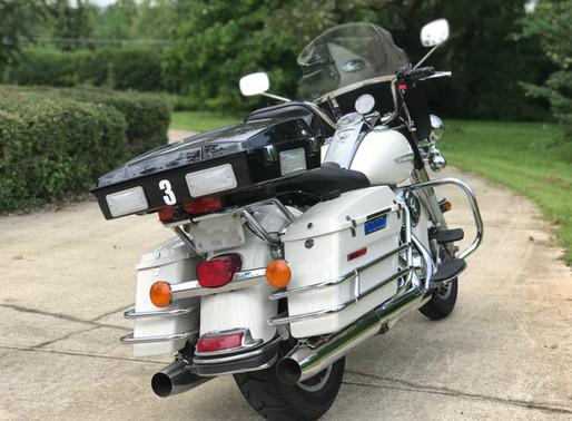 INNOVV K2 Motorcycle Camera System was installed on 2012 Harley-Davidson Road King Police bike