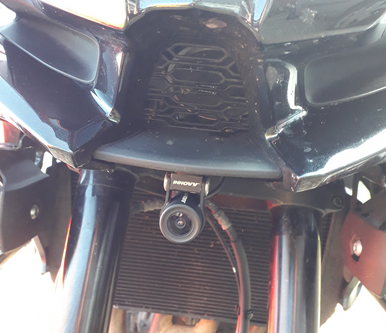 INNOVV K2 Installed on Kawasaki Versys 1000