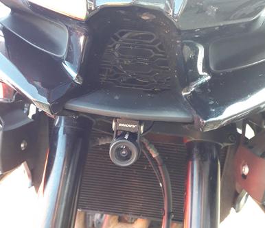INNOVV K2 Installed on Kawasaki Versys 1000