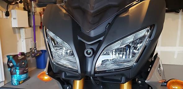 INNOVV K2 installed on 2019 Yamaha trace