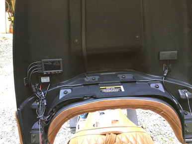 INNOVV K1 motorcycle camera system installed on 2015 Indian Roadmaster
