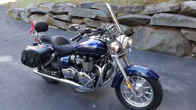 INNOVV K1 Motorcycle Camera Installed 2014 Triumph America