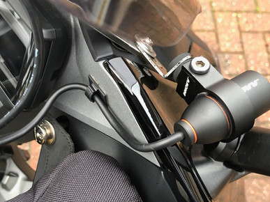 INNOVV K2 Motorcycle Camera System Was  installed on  2018 R1200RS BMW
