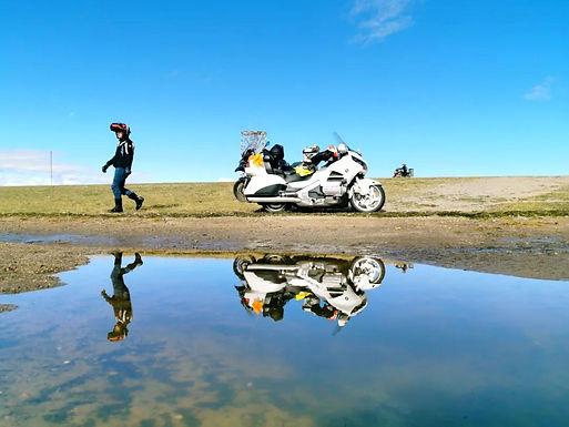 Motorcycle Trip Around Qinghai Lake 6