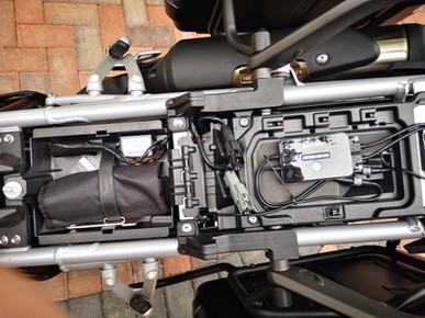 INNOVV K2 on Triumph Tiger 900