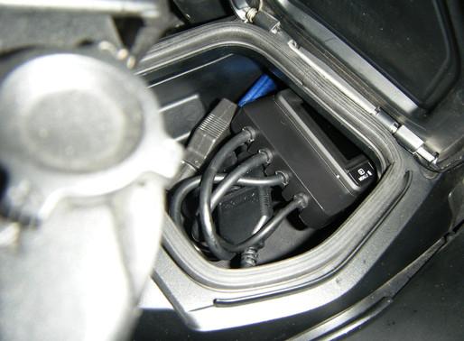 INNOVV K1 motorcycle camera installation into 2016 BMW R1200RT LC