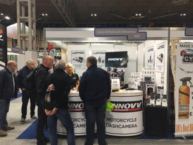 INNOVV Motorcycle Camera in Motorcycle Live 2018 Exhibition