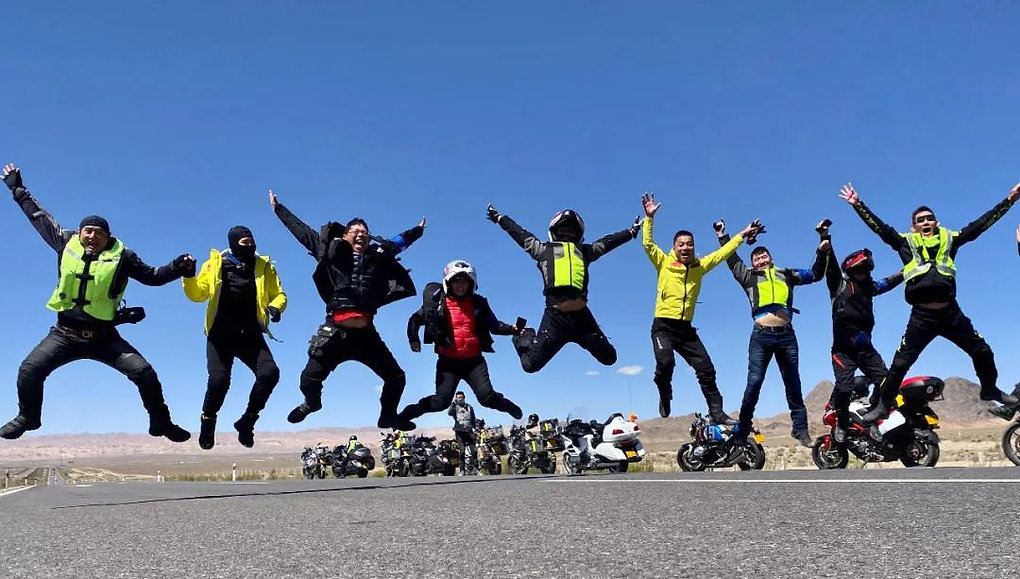 23 Days of Silk Road Motorcycle Trip over 8000km 1