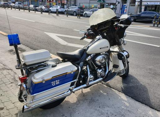 INNOVV C5 Camera System Installed on Korean Police Motorcycle