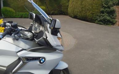 INNOVV K2 Dual Camera System on a BMW K1600GTL