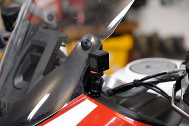 INNOVV K1 Motorcycle Camera System was Installed on 2018 Ducati Multstrada 1260