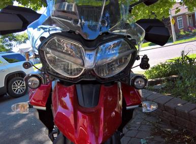 INNOVV K2 Motorcycle Camera Install on 2018 Triumph Tiger 800Xca