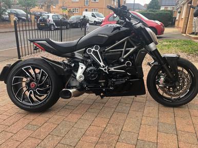 INNOVV K2 Motorcycle Camera System Was Installed on 2016 Ducati XDiavel