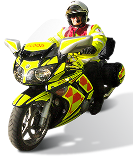 INNOVV UK – Blood Bike Fundraising – Please Support