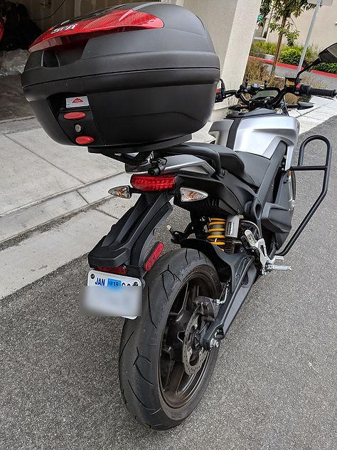 INNOVV K2 motorcycle camera on zero motorcycle-03