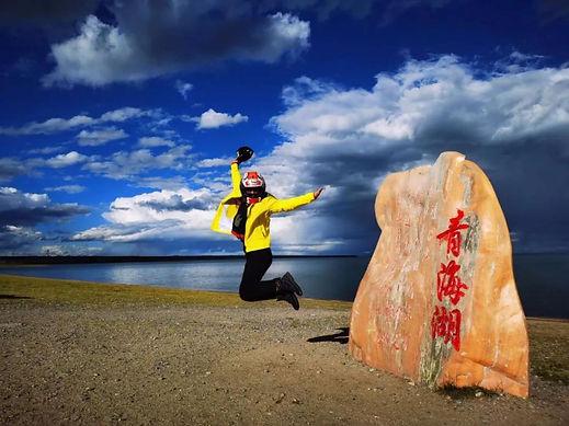 Motorcycle Trip Around Qinghai Lake 11