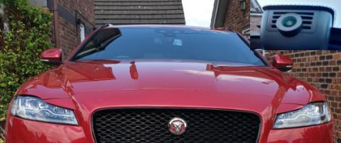 INNOVV K2 Installed in Jaguar XF Car