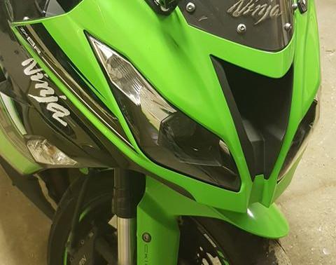 INNOVV K2 Motorcycle Camera System on Kawasaki Ninja Zx-6R