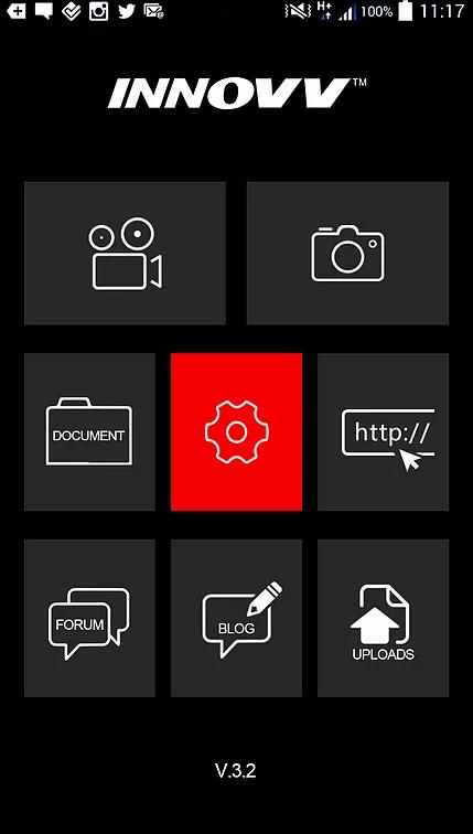 INNOVV K2 Dashcam APP setting.webp