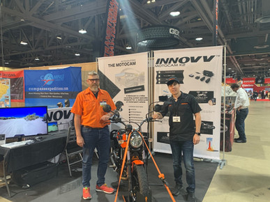 INNOVV Motorcycle Camera In US Exhibition