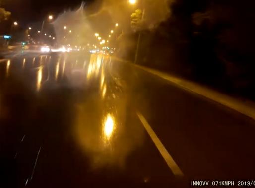 INNOVV K2 in the rainy night