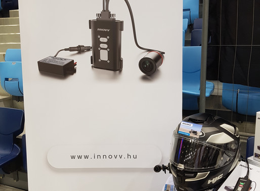 INNOVV Motorcycle Camera at Hungary Motor Show