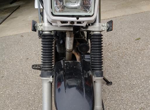 INNOVV K1 Motorcycle camera install on Yamaha TW200