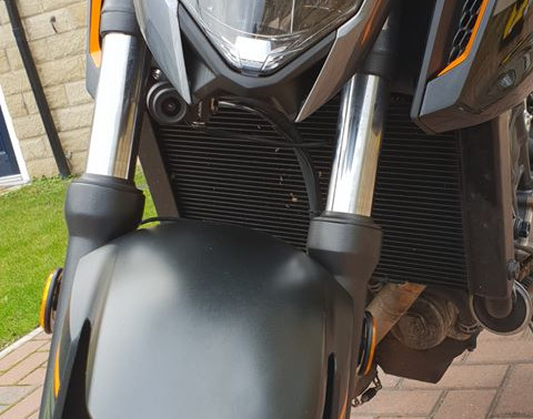 INNOVV K2 Motorcycle Camera System on Honda CB650F