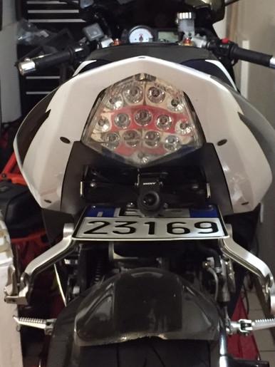 INNOVV K2 Motorcycle Camera System on 2003 GSX-R 1000