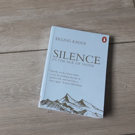 Silence, in an age of noise