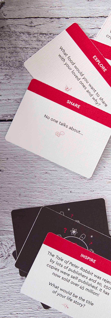 Play the big conversations card game