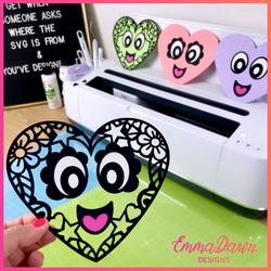 LEXI & LEVI THE LOVE HEARTS SVG