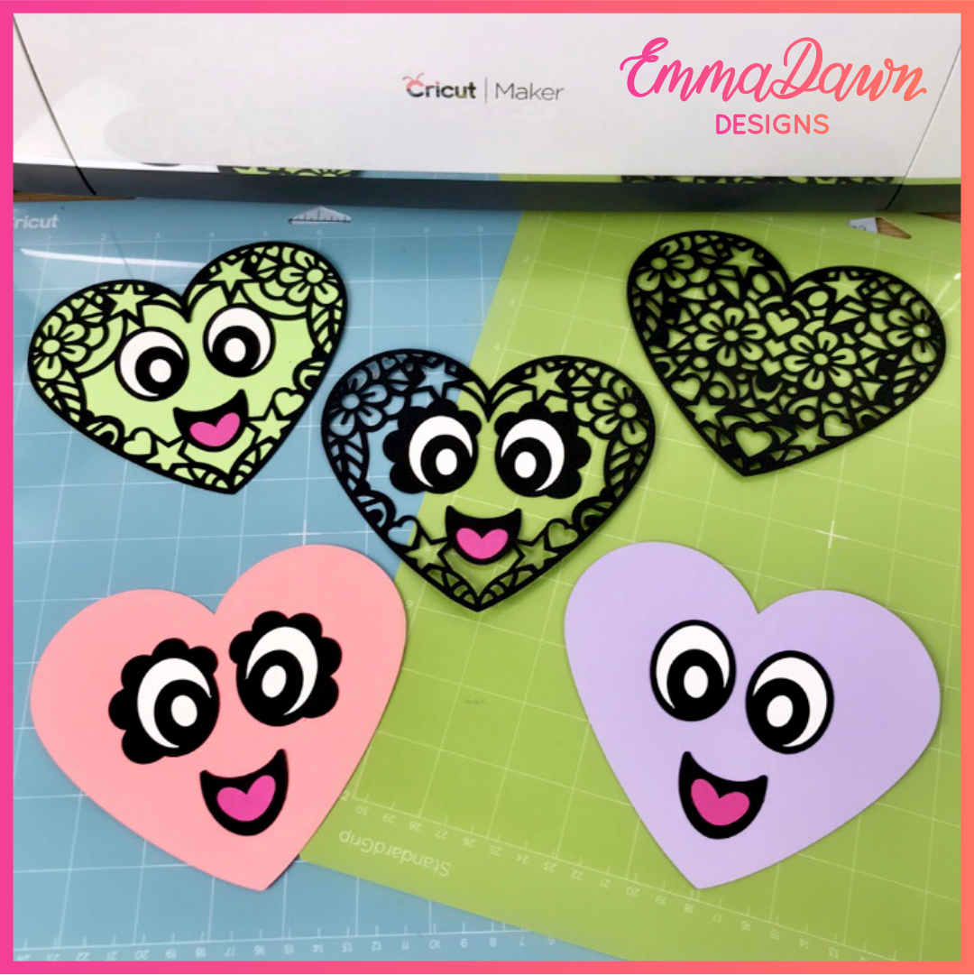 LEXI & LEVI THE LOVE HEARTS SVG