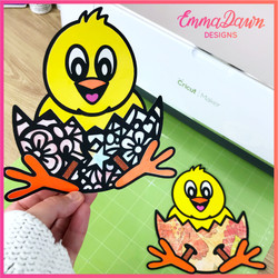 Cheep The Chick SVG