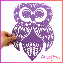 Anne The Fluffy Owl