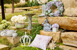 Outdoor Natural Stone Decor