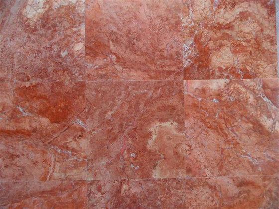 Red Travertine Slabs