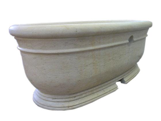 Travertine Bathtub