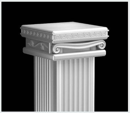 RM Natural Stone Pedestal