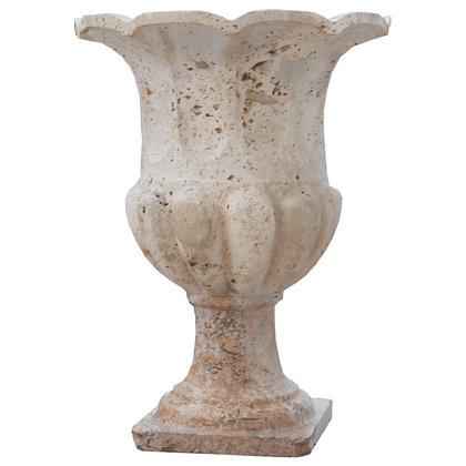 Vermont Marble Plant Pot