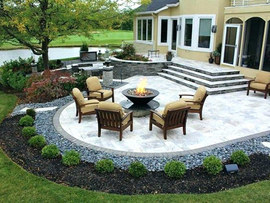 Outdoor Decor Natural Stone