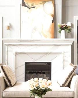 Granite Fireplace Decor
