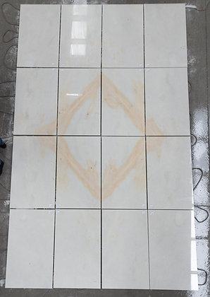Sunny White Marble Tile