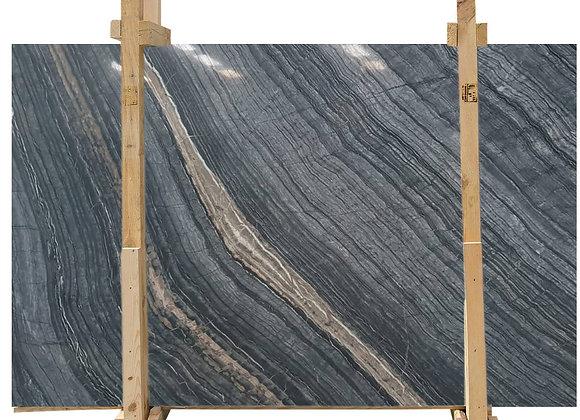 Gold Black Wave Marble
